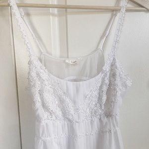 Flora Nikrooz NWT White Bridal Chemise Nightgown M